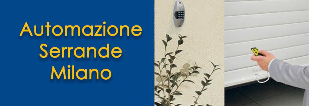 Milano - Automazione Serrande a Milano
